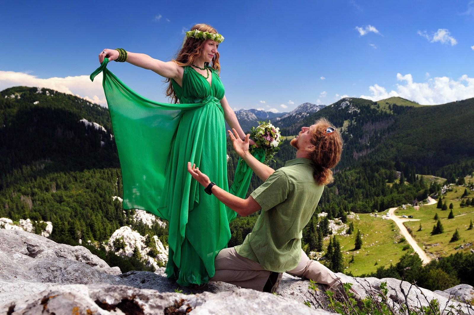 Ljubezen, čista ljubezen je tale prekrasen Velebit. Foto: HTZ in Aleksandar Gospić.