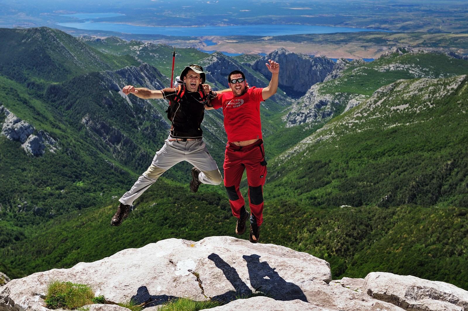 V Paklenici je raj za plezalce. Za amaterje ali izkušene plezalne mačke. Foto: HTZ in Aleksandar Gospić.