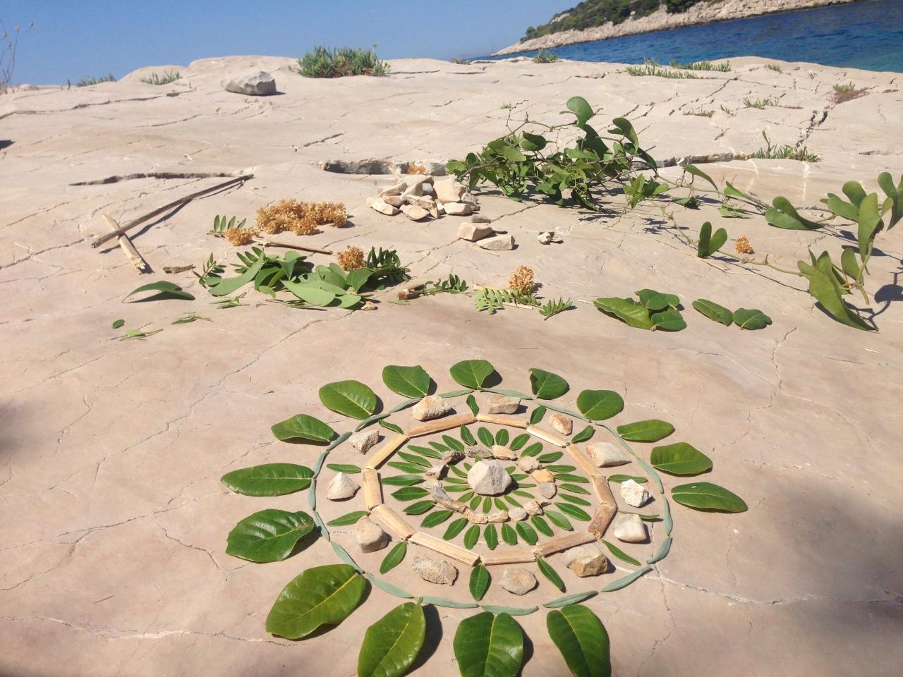 Mandala, ustvarjalni proces