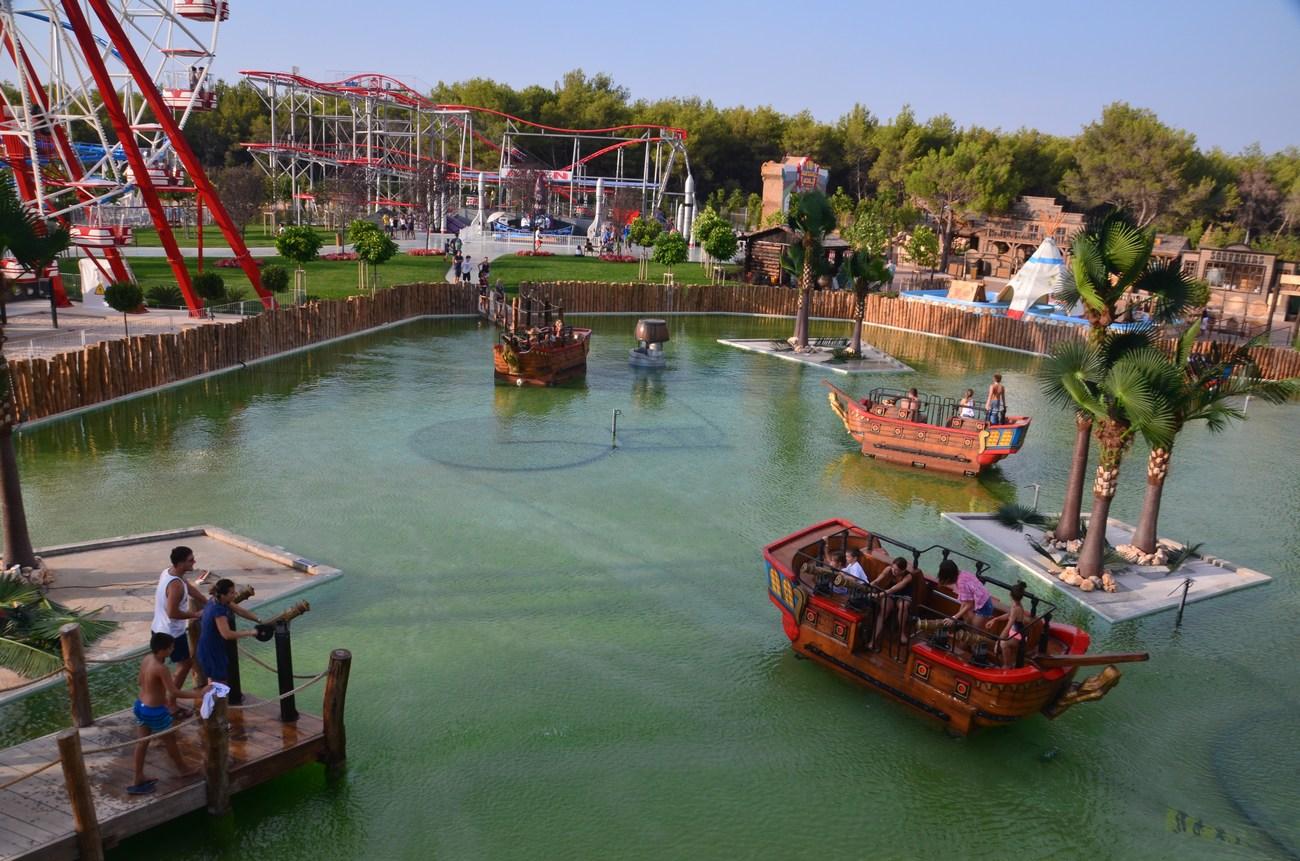 Atrakcija z imenom Pirate Battle je ena izmed najbolj obiskanih, prisrčnih.