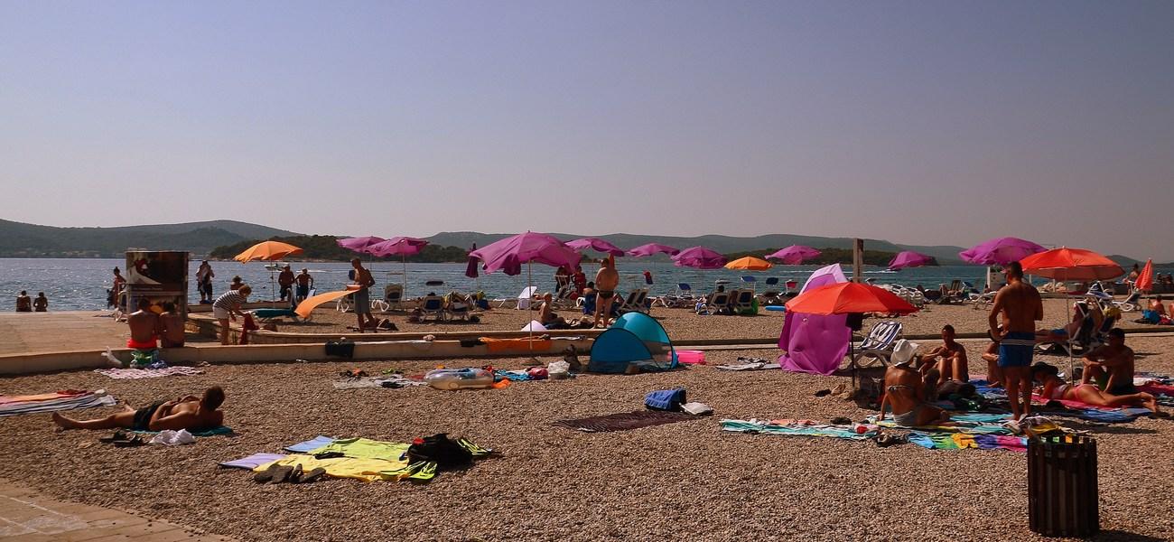 Plaža, Biograd na moru.