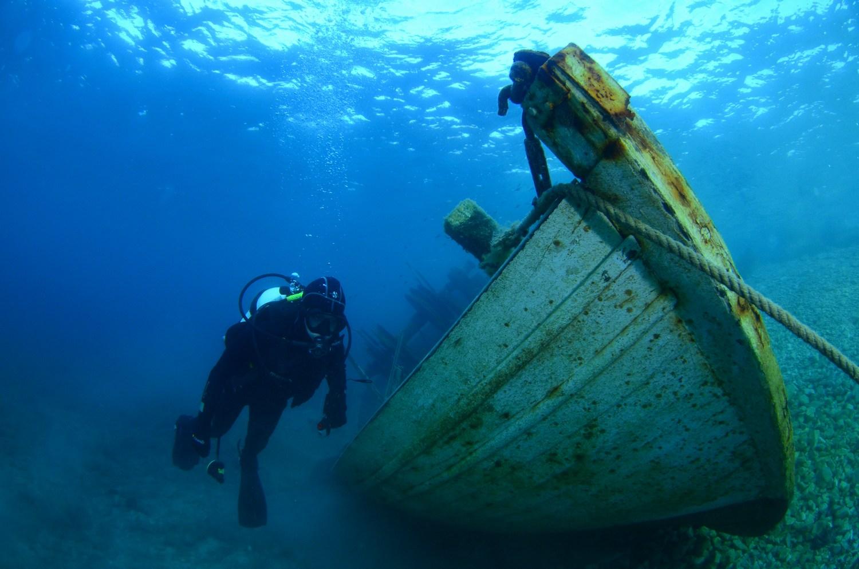 Potapljaške igre: podvodna orientacija, podvodna uganka, streljanje v tarčo s podvodno puško in hitrostno plavanje s plavutmi.