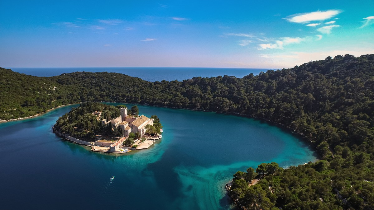Otok Mljet, najbolj zelen dalmatinski otok