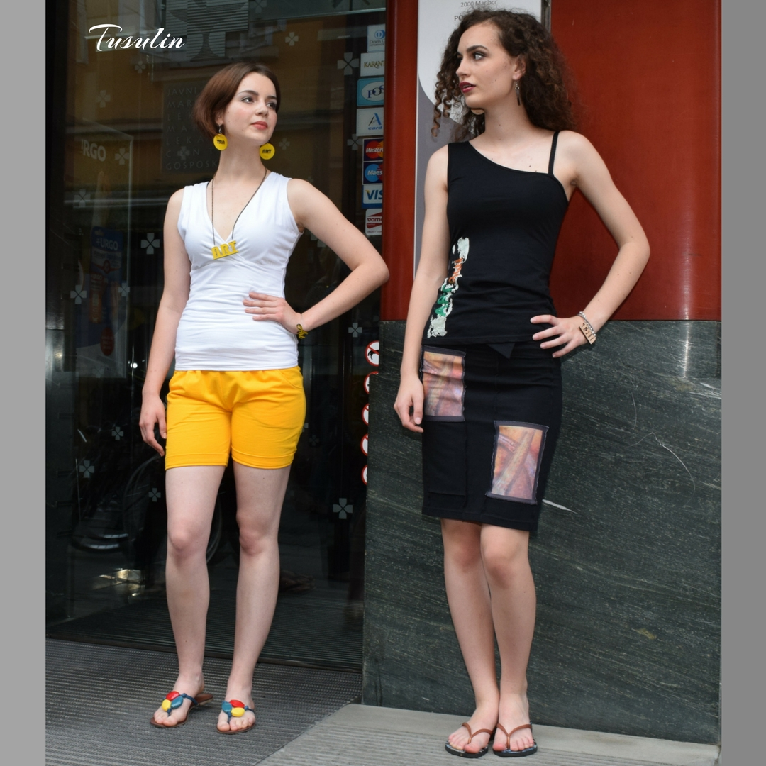 kratke hlače in krilo