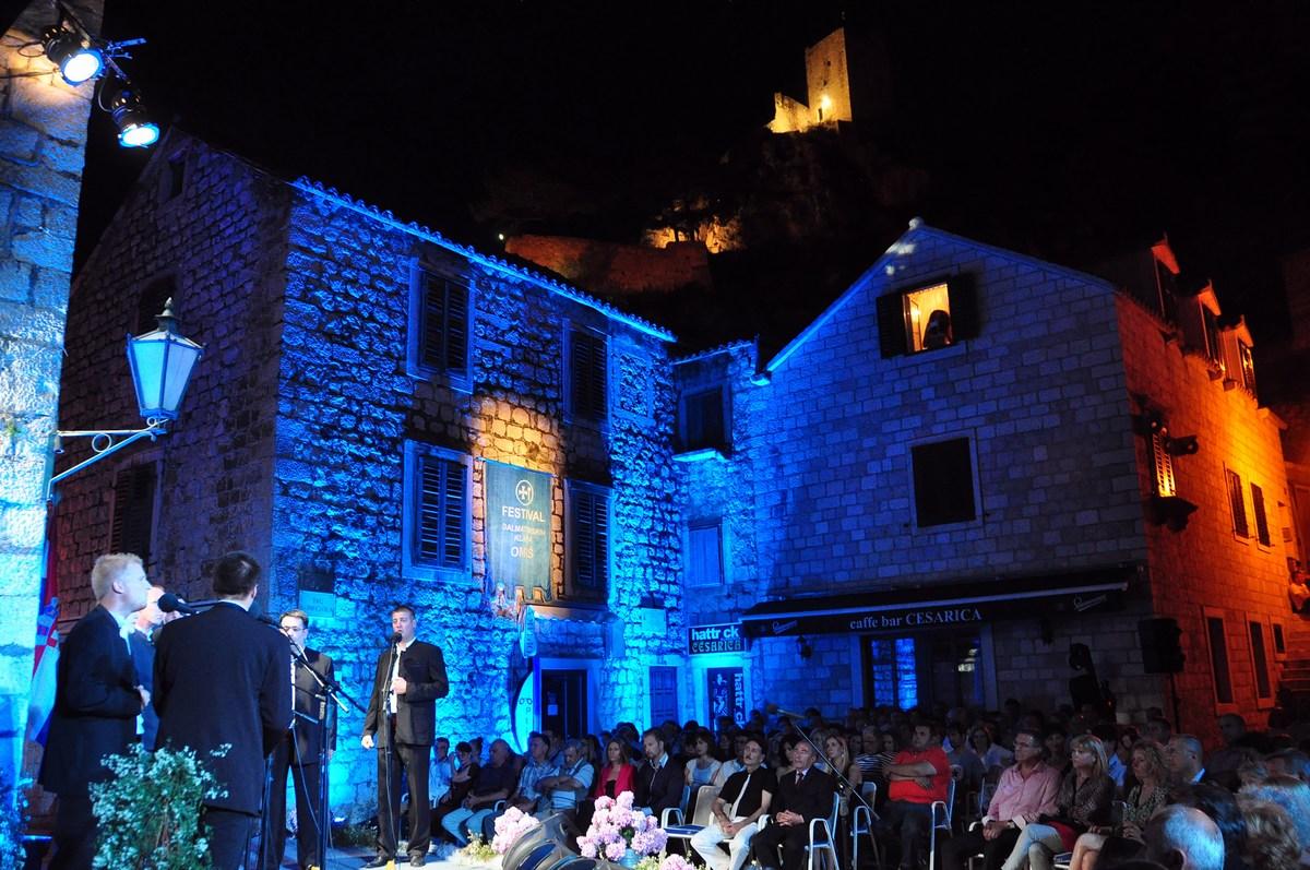 Prvi festival dalmatinskih klap je bil organiziran leta 1967.
