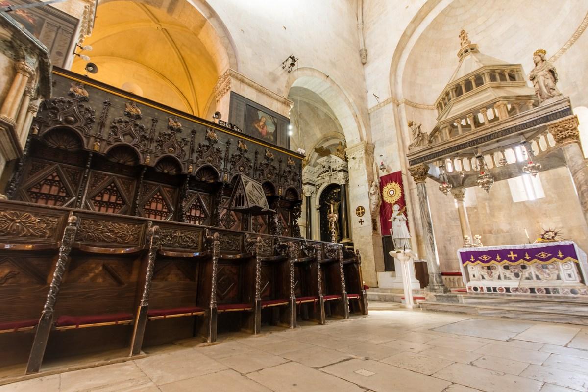 Detajl v katedrali