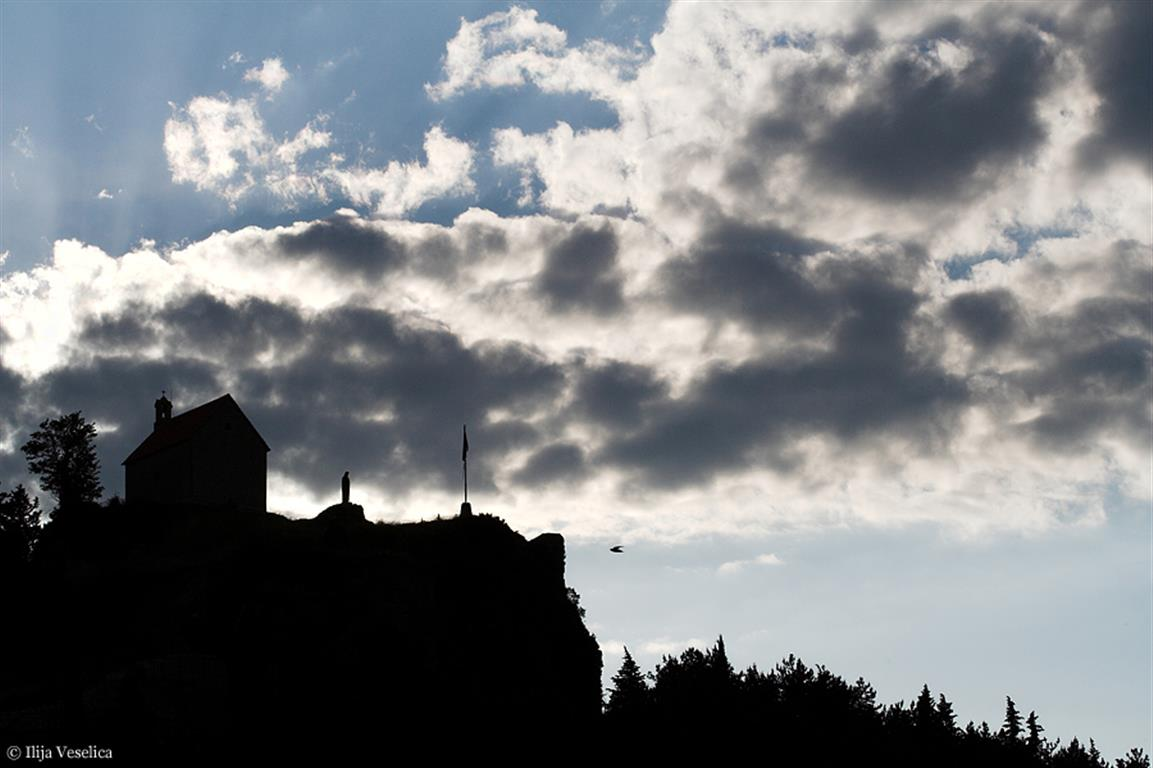 Silhueta sinjskega gradu