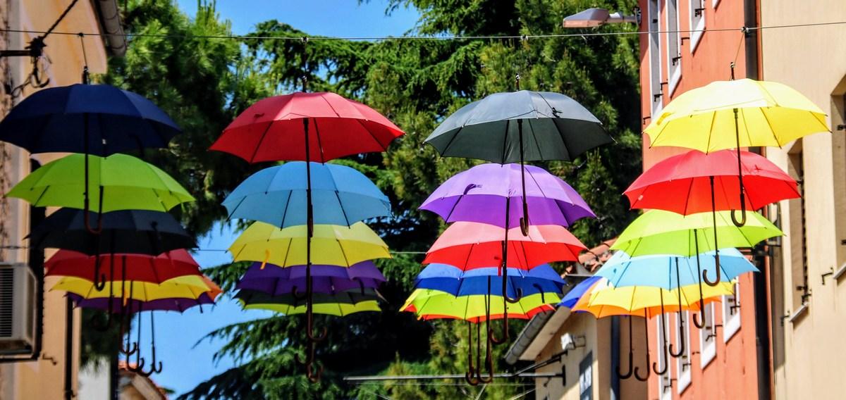 Slavni dežniki