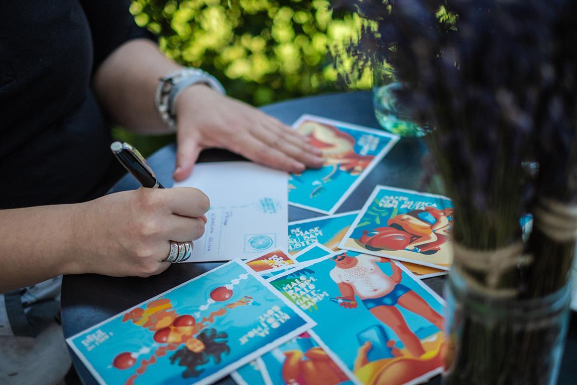 Pišemo razglednice