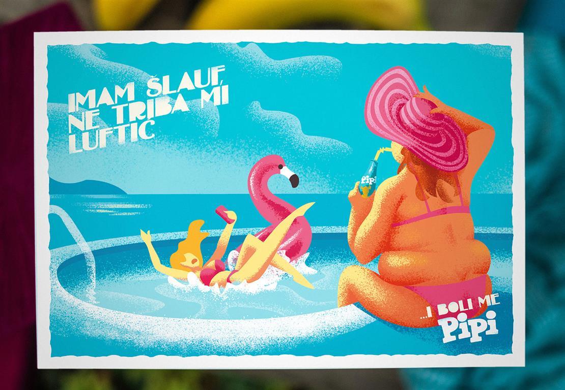 Pipi, brezskrbne razglednice
