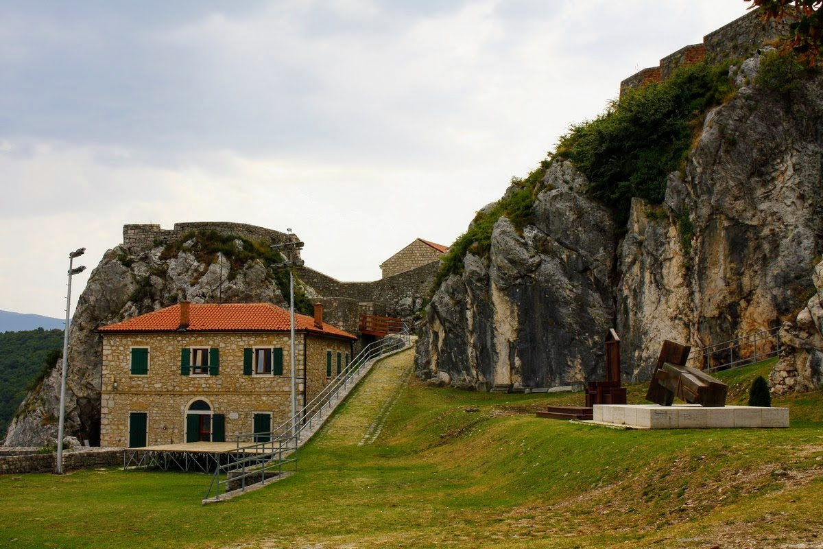 Notranjost trdnjave