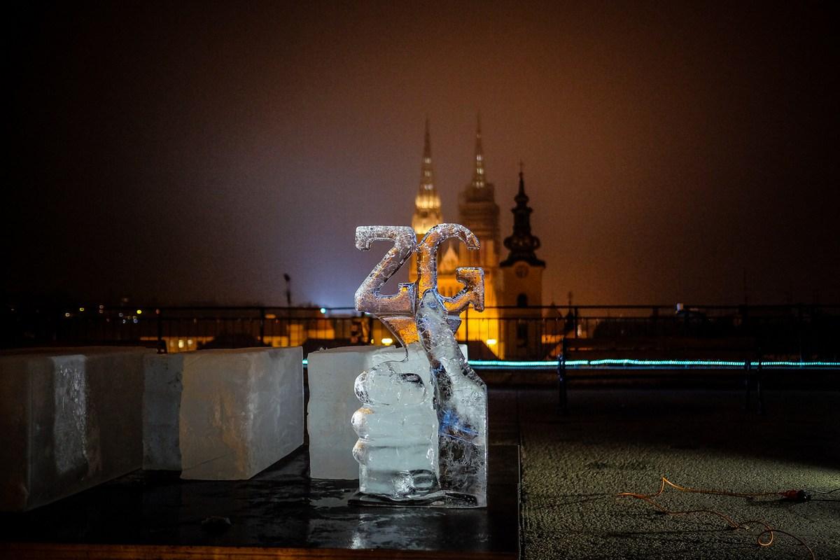 Skulptura iz leda. Foto S. Kaštelan