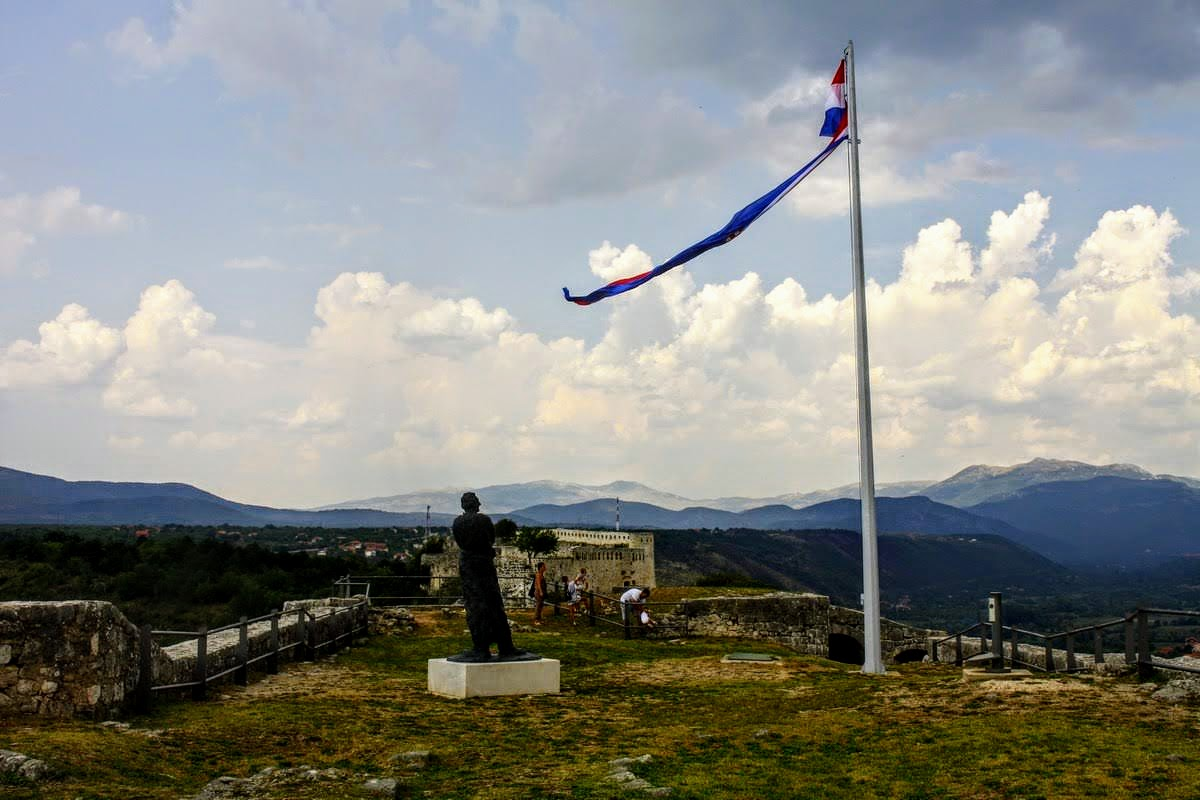 Tuđman in zastava