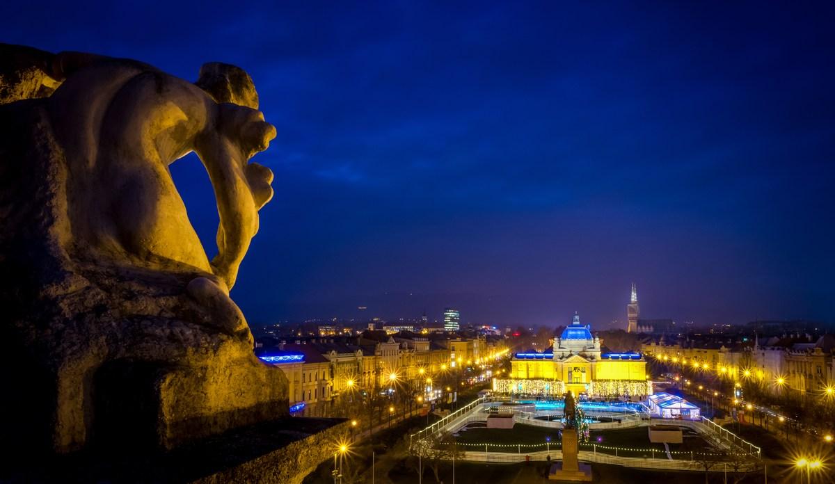 Zagrebški pogledi. Foto J. Duval