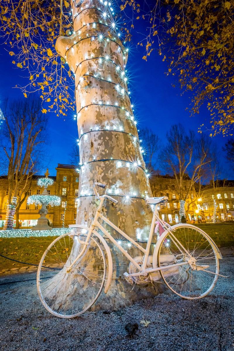 Zrinjevac in kolo. Foto J. Duval