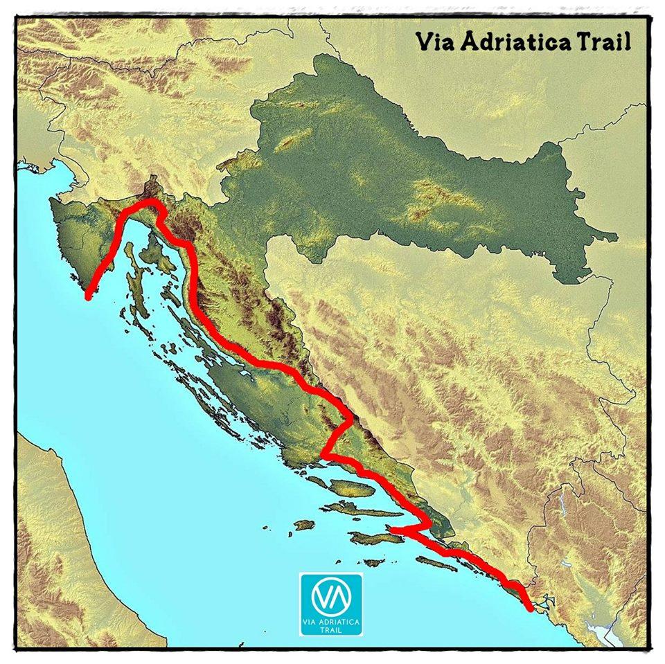 zemljevid_Via Adriatica