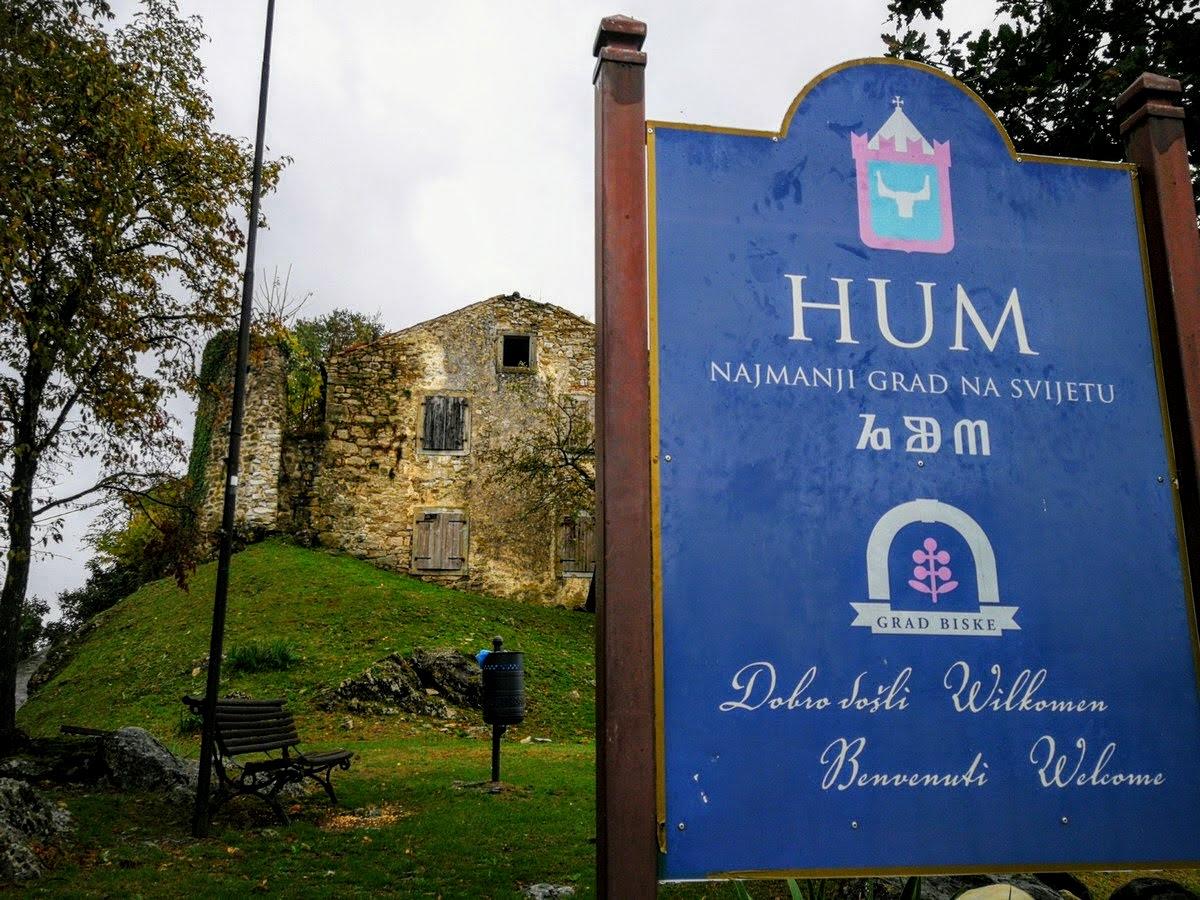Hum, najmanjše mesto na svetu