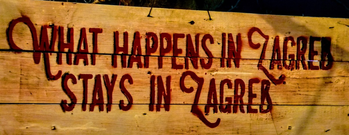 Kar se zgodi v Zagrebu tam tudi ostane