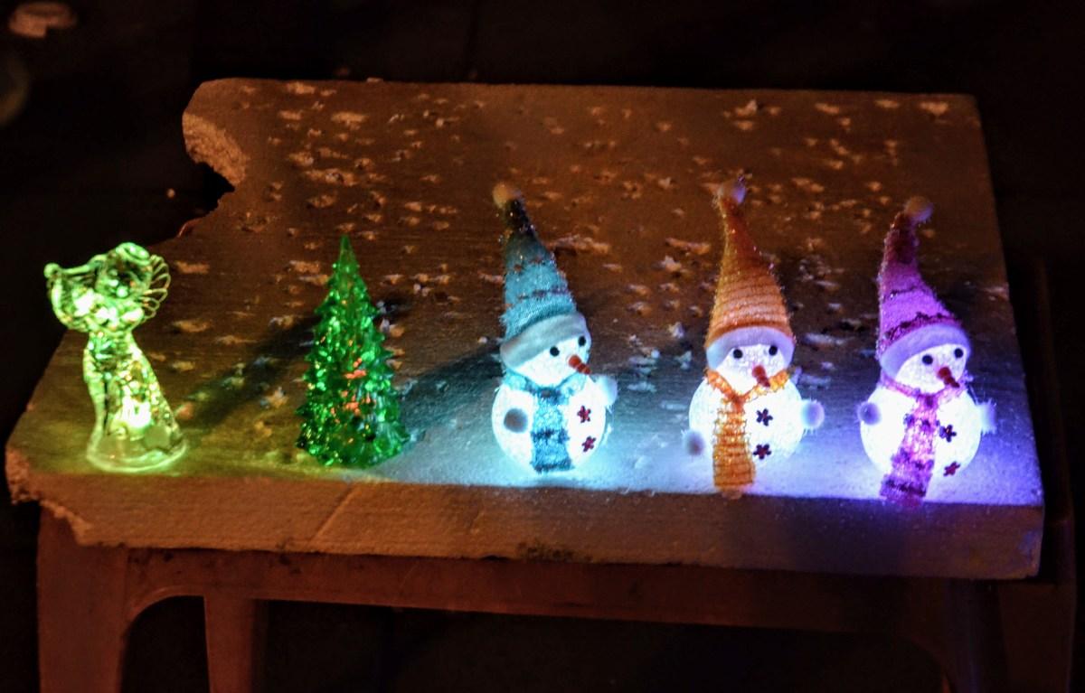 Mini snežaki