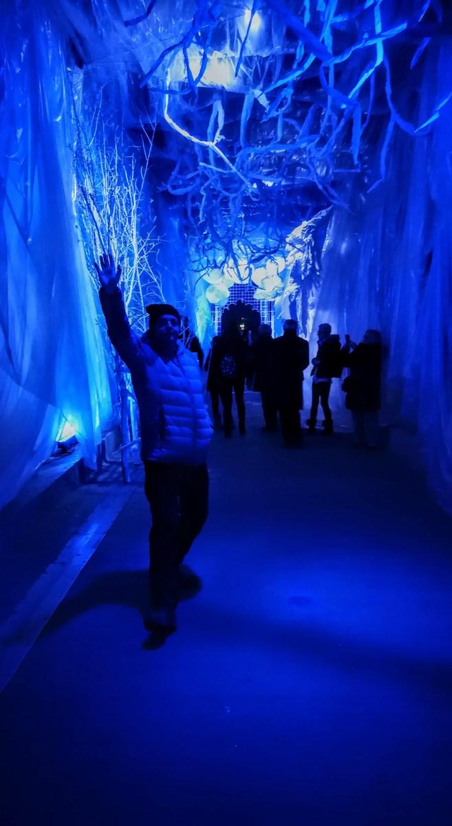Veselje v tunelu