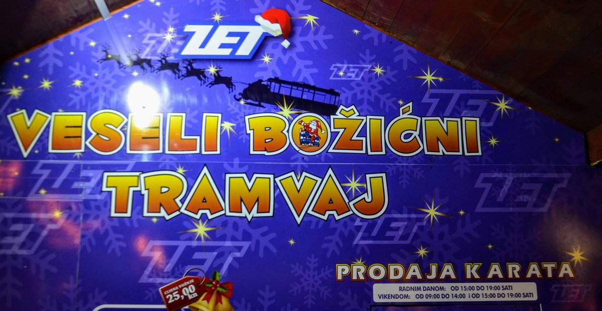 Vozi tudi božični tramvaj