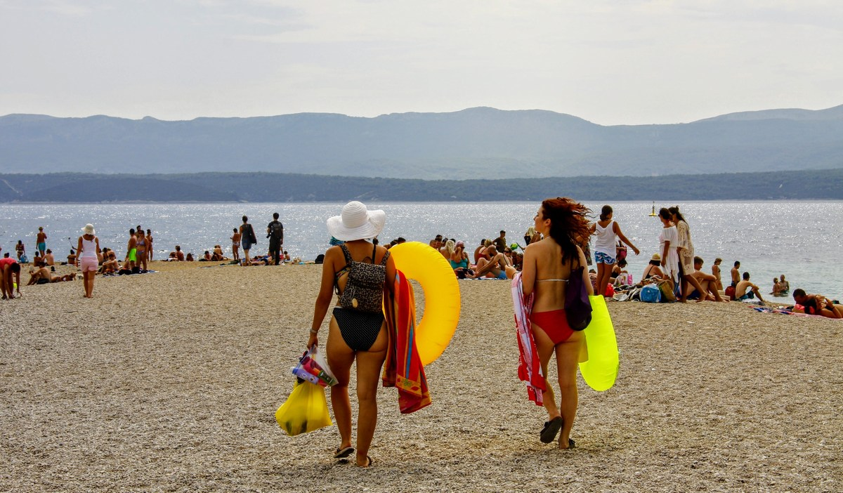 Iščoč svoj košček plaže