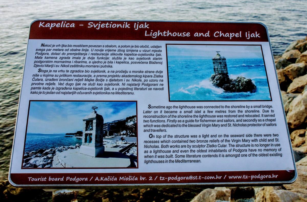 Kapelica, ki je tudi svetilnik