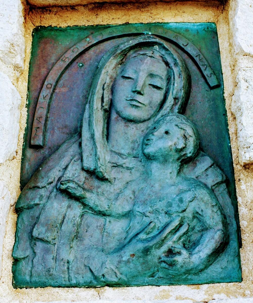 Marija z Jezusom je del svetilnika