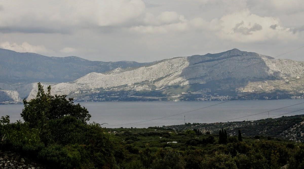 Pogled proti morju, proti kraju Splitska