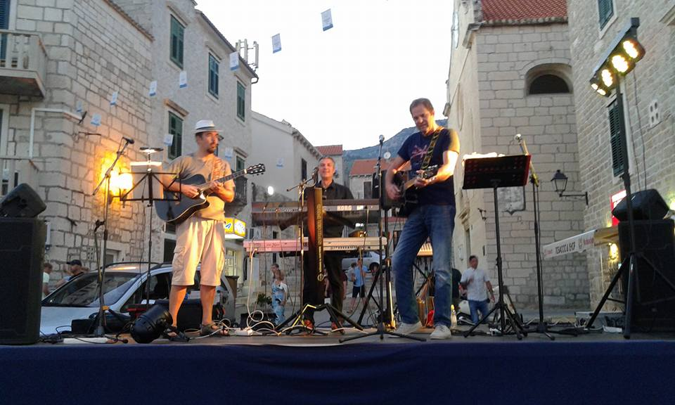 Dalmacija band, glasbena zgodba otoka Brača