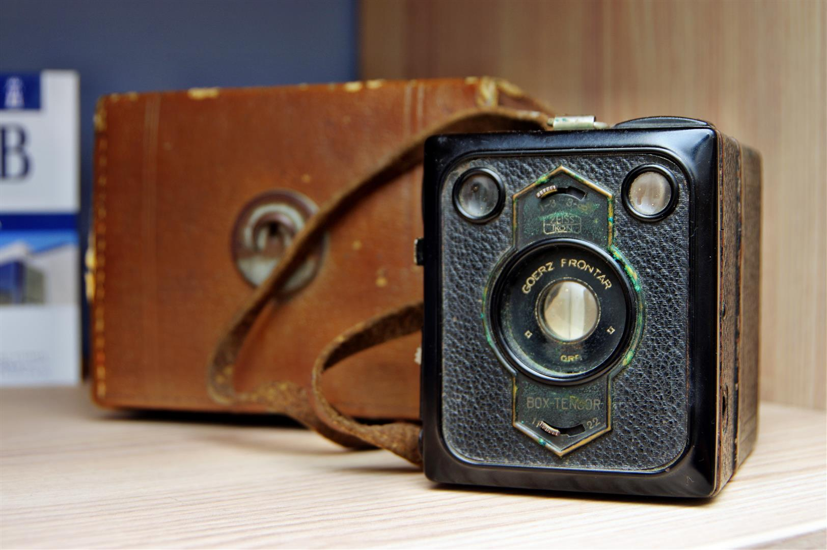 detalj kamera stara