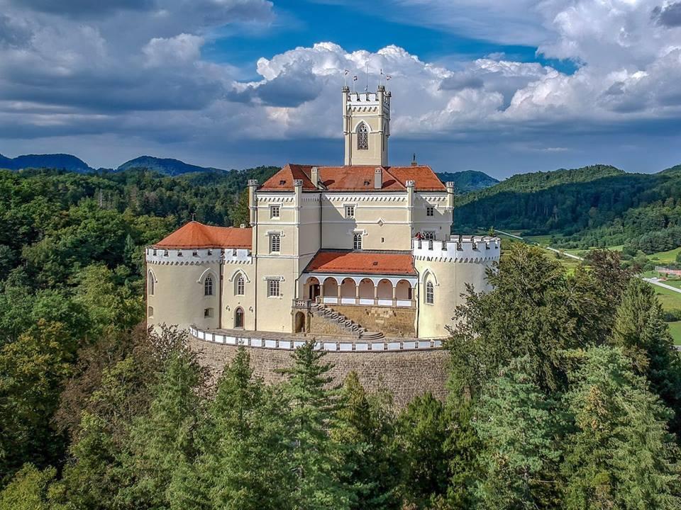 Dvorec Trakošćan, pravljični grad