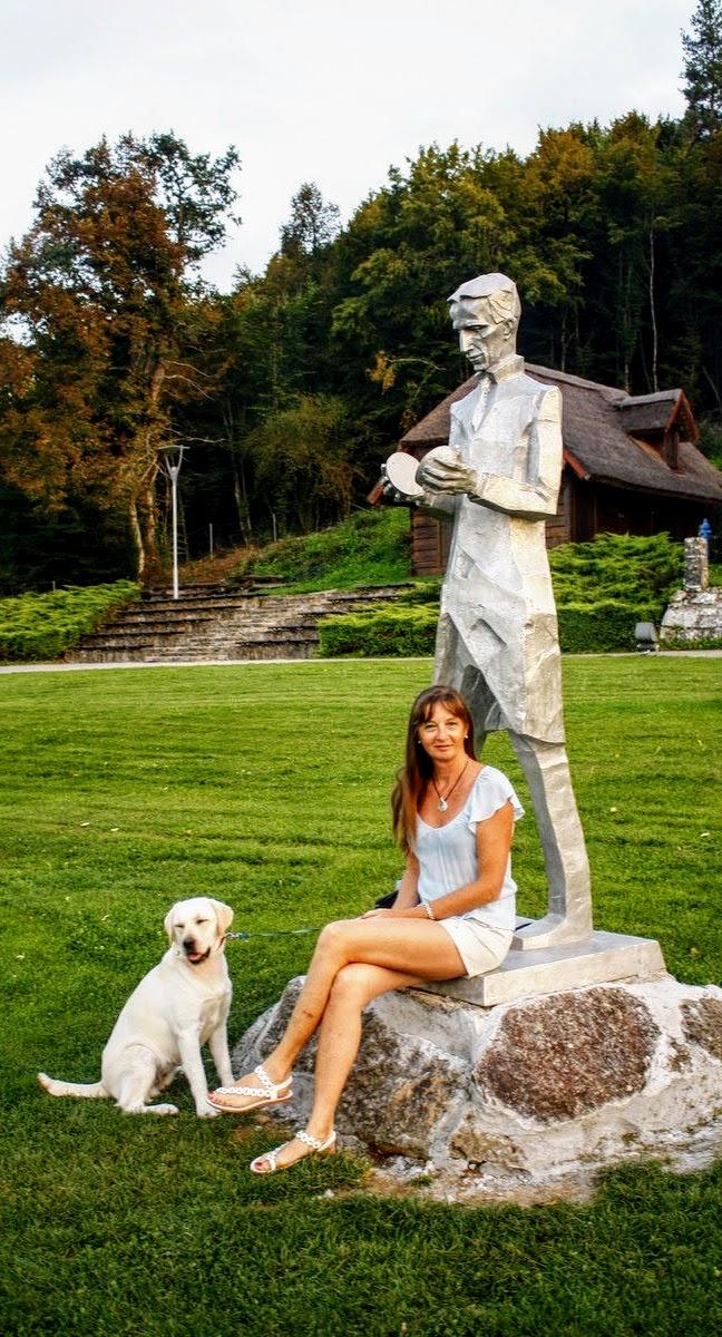 Kip Tesle je zelo fotogeničen