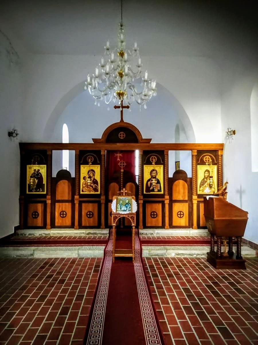 Notranjost cerkvice