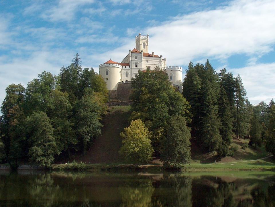 Prekrasen dvorec v Trakoščanu