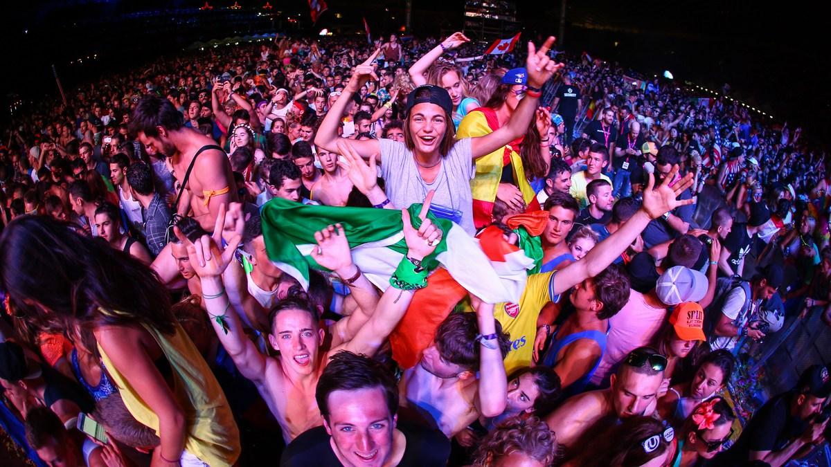 Ultra Europe, mega zabava v Splitu