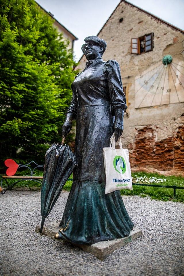 Marija Jurić Zagorka, fotografija Nevio Smajić, Greenpeace