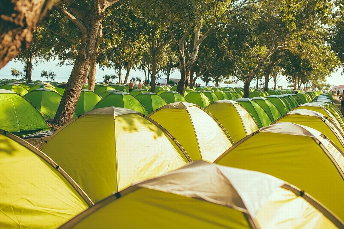 Morje šotorov
