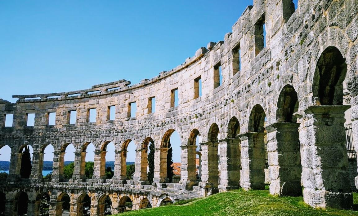Amfiteater v Pulju