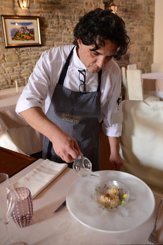 Chef Damir Modrušan rad preseneča in zabava goste
