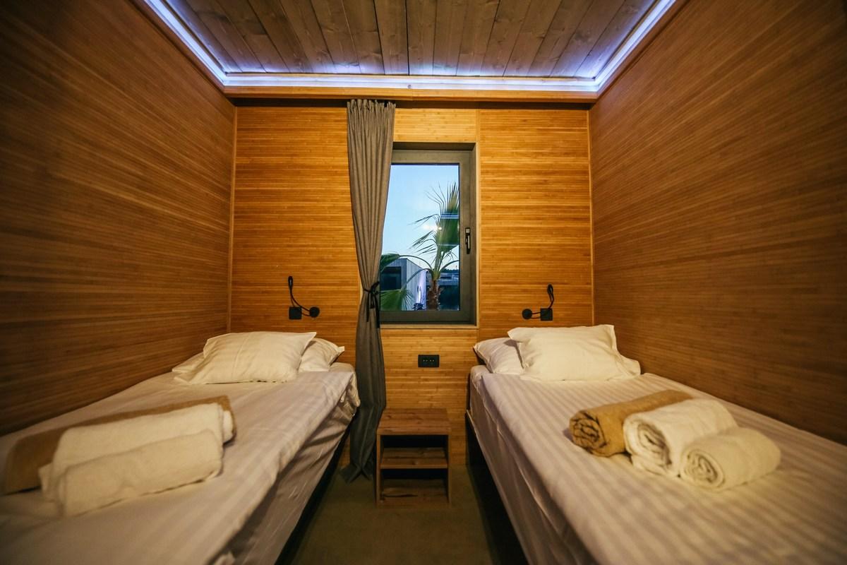 Ena izmed spalnic