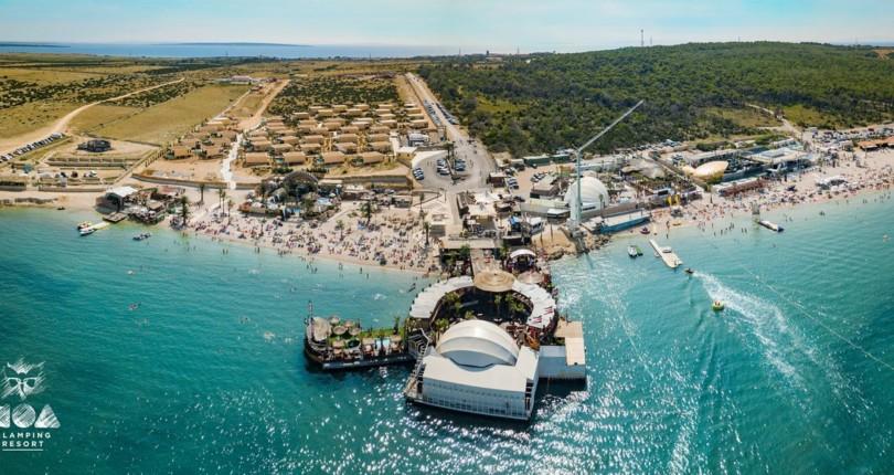 Noa Glamping Resort na plaži Zrće