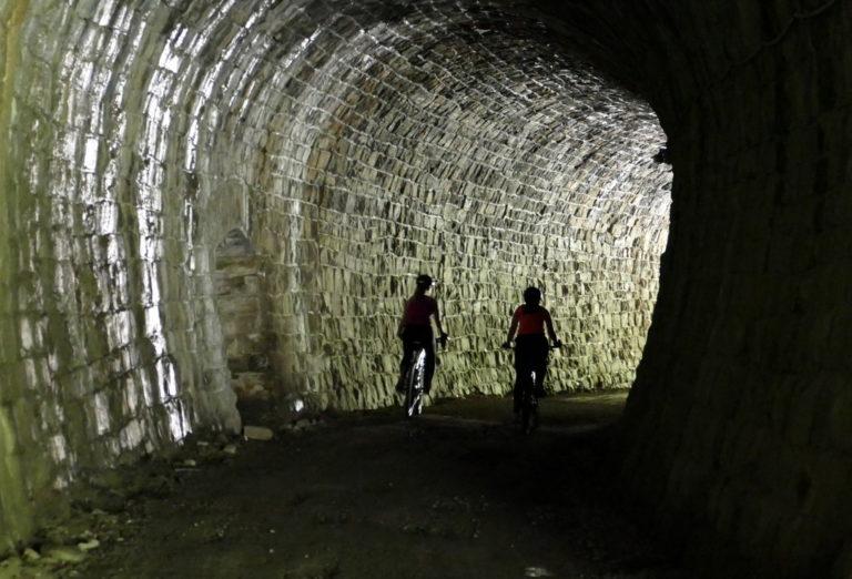 Osvežitev v tunelu