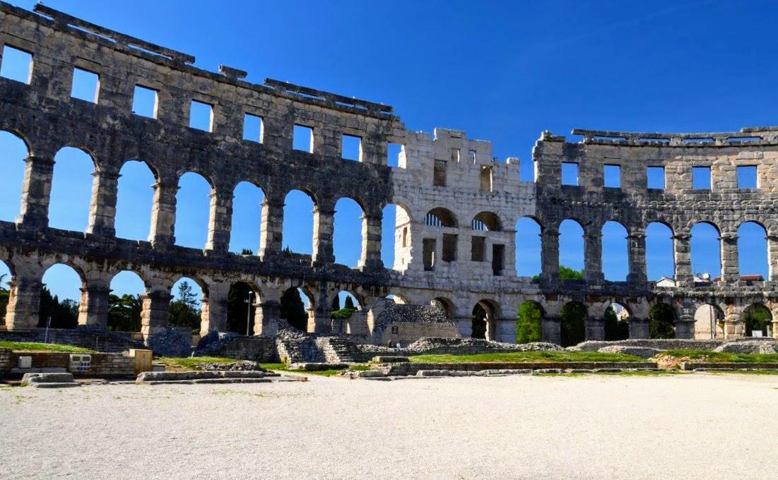 Tukaj je tekla kri gladiatorjev