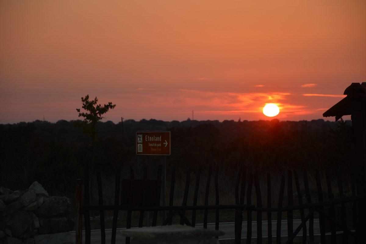 Sončni zahod