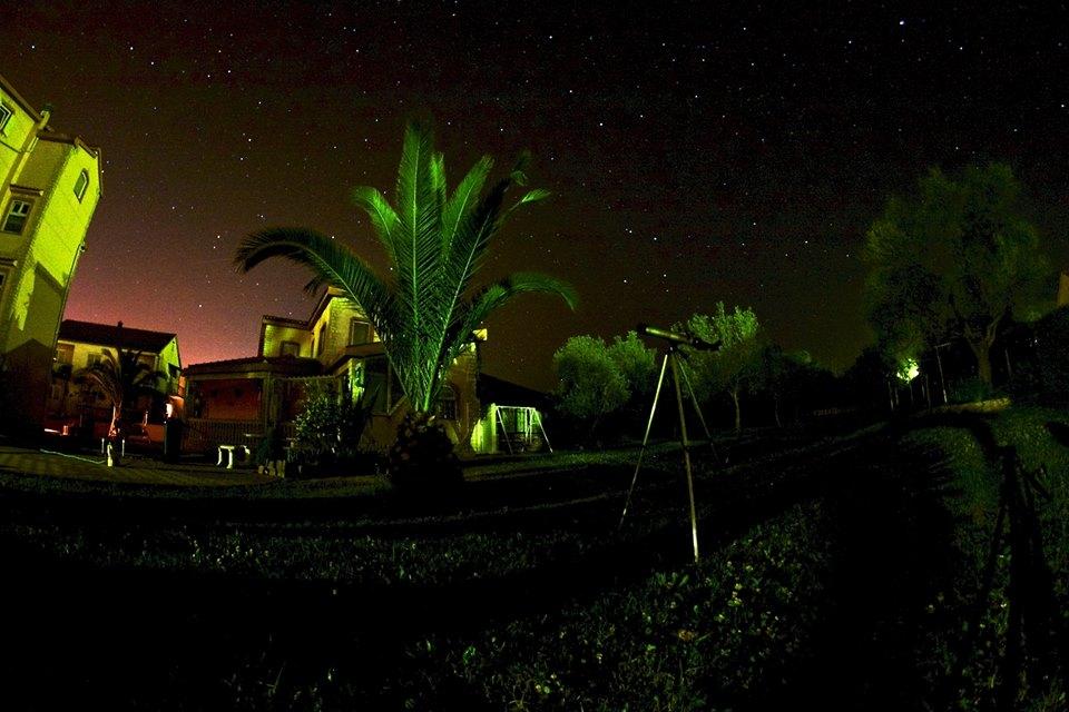noč zvezde