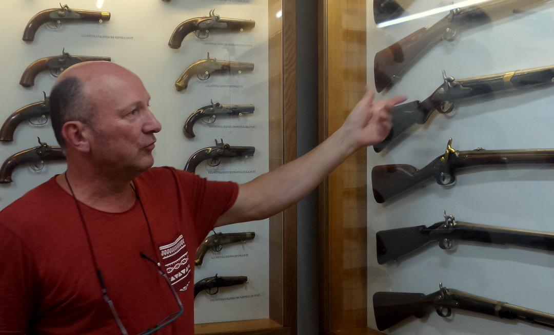 Orožje v Istri