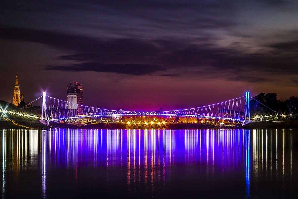 Osijek, glavno mesto Slavonije in Baranje