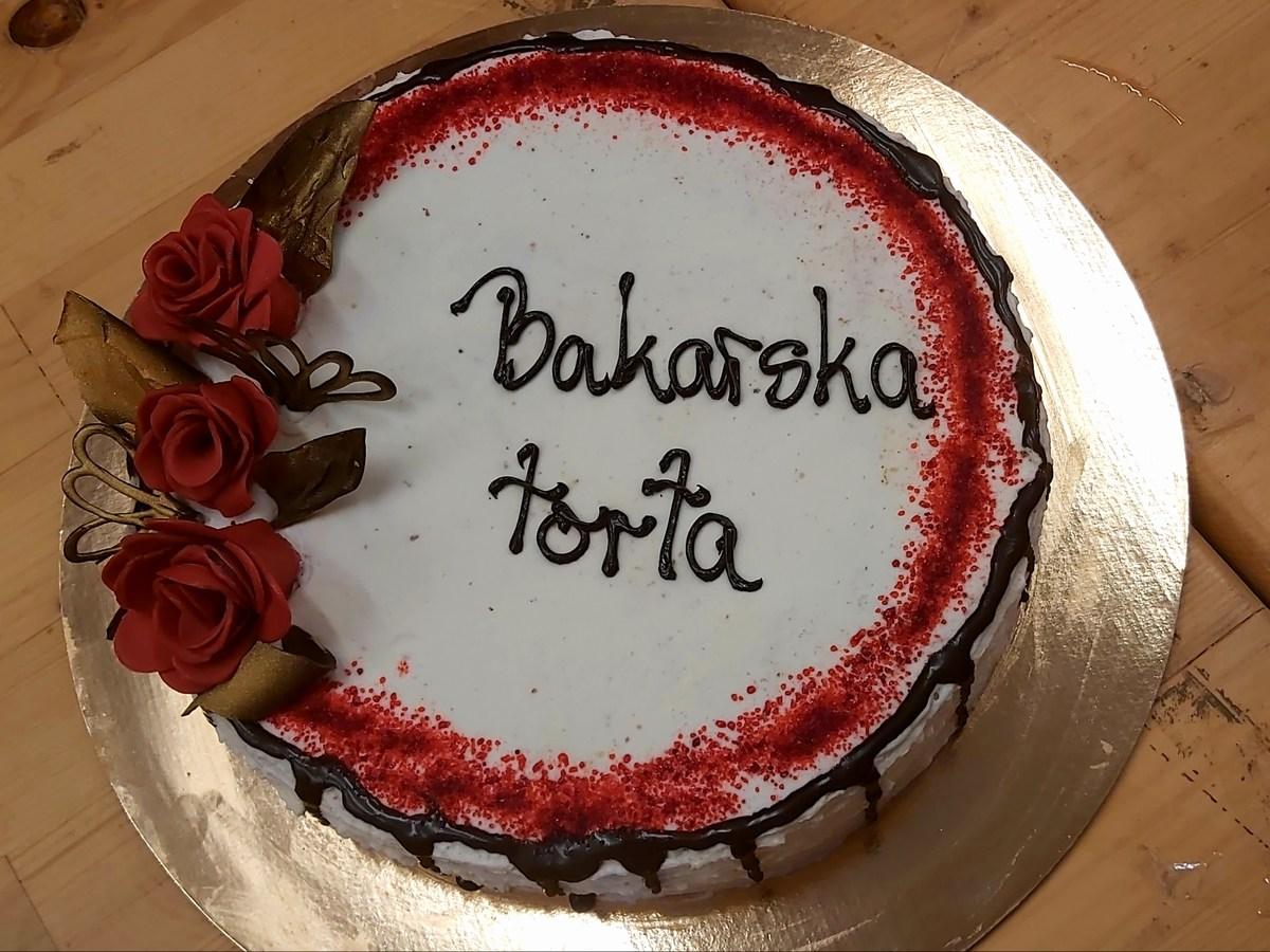 Bakarska torta, sladica razkošnega okusa