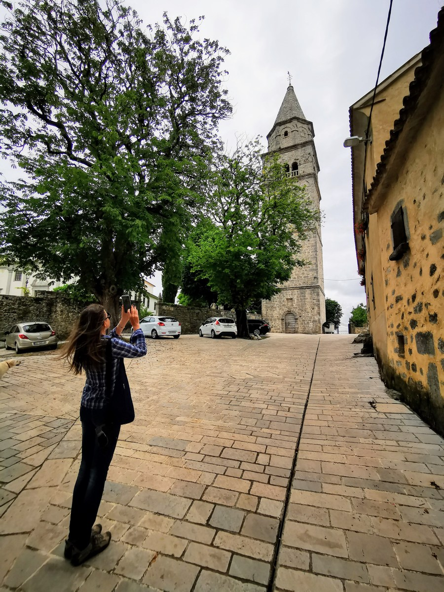 Fotografiranje visokega zvonika